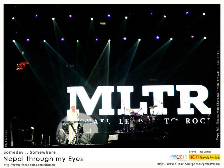 MLTR live in Nepal photos and video