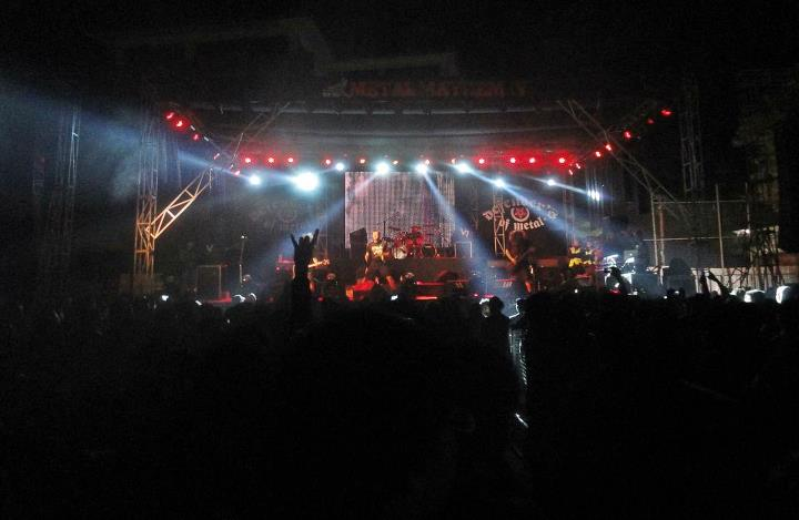 Napalm death live in Nepal 2012