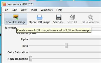Luminance HDR – Free and Open Source HDR Software