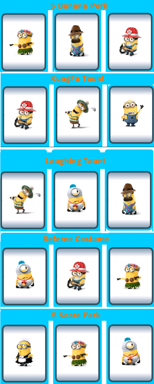 Despicable Me : Minion Rush Gift Code Combinations