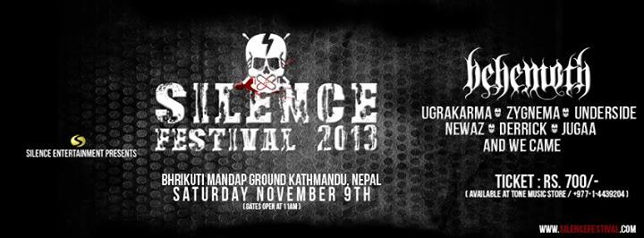 Silence Fest IV 2013 Line up & information
